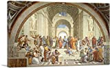 ARTCANVAS School of Athens 1510 Canvas Art Print by Raphael - 40' x 26' (1.50' Deep)