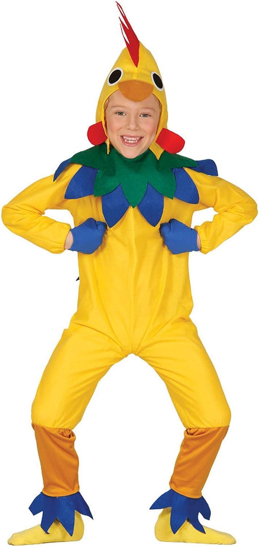Guirca - Disfraz de pollito, talla 5-6 años, color amarillo (83289 ...