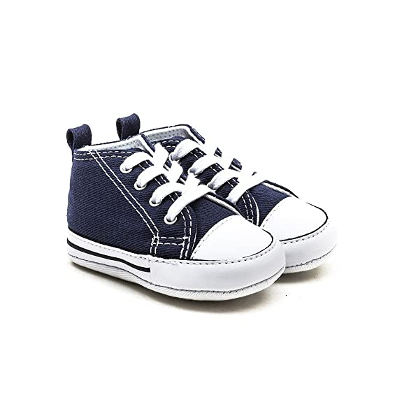 Converse First Star Navy 88865 Trainers for Babies: Amazon