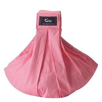 Cuby Porte-bébé Hamac De transport et allaitement Pour nouveau-nés (Rose) f7fa8d36a9c