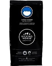 Kicking Horse Coffee, Three Sisters, Medium Roast, Whole Bean, 1 lb - Certified Organic, Fairtrade, Kosher Coffee