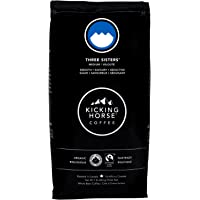 Kicking Horse Coffee, Three Sisters, Medium Roast, Whole Bean, 1 lb - Certified Organic, Fairtrade, Kosher Coffee