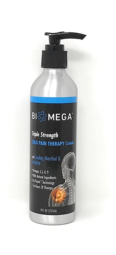 amazon com bio mega cold pain therapy cream sports outdoors