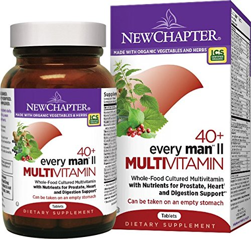 Men's Natural Multivitamin by New Chapter, Every Man II 40+ 96 ct