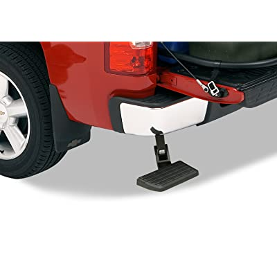 AMP Research 75302-01A BedStep Retractable Bumper Step for 2006-2014 Ford F-150 & Raptor (Excludes Flareside): Automotive