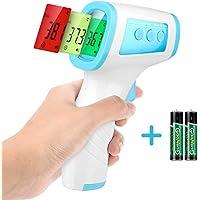 Termómetro infrarrojo frente termómetro digital sin contacto,