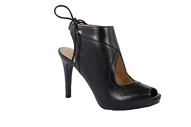 Nero Giardini–Chaussures en cuir à lacets - Femme - noir - noir, 38 EU
