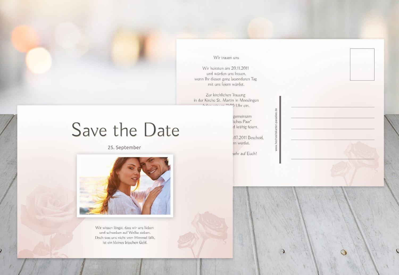 Kartenparadies Hochzeitskarte Save-the-Date Rosa, Rosa, Rosa, hochwertige Save the Date Karte zur Hochzeit   30 Karten - (Format  148x105 mm) Farbe  HellRosa B01N363PDH | Großartig  | Meistverkaufte weltweit  | Verwendet in der Haltbarkeit  f14573