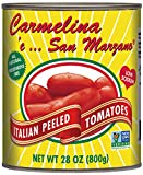 This is Carmelina San Marzano in her most natural state - Pomodoro Perfection! Imported from the Campania region of Italy, these full-bodied, silky red San Marzano tomatoes are steam peeled and packed in their own succulent puree. Sauté these...
