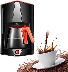 LYYJIAJU Cafetera de Goteo, Filtro de café de la máquina de un Solo Toque, de 15 Copa de Alta Capacidad Cafetera, Anti-Goteo de diseño, Filtro extraíble y Embudo: Amazon.es: Hogar