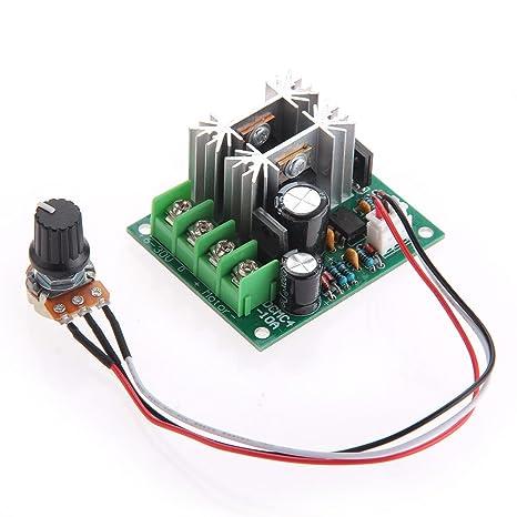 Schema Elettrico Regolatore Pwm : Regolatore velocità pwm per motore a corrente continuo dc v