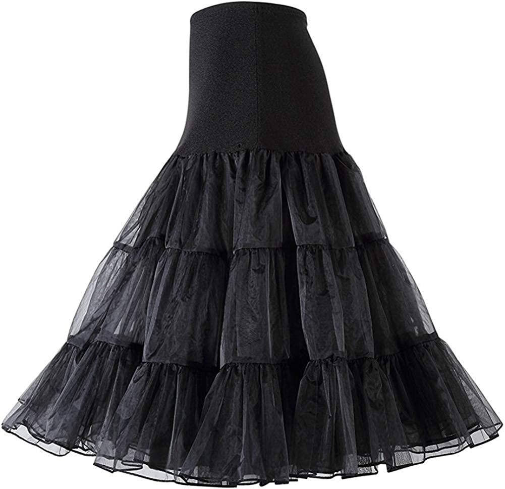 "US 26/"" Vintage Prom Ball Petticoat Crinoline Short Skirt Tutu Slips Fancy Dress"