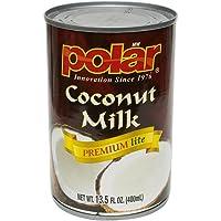 MW Polar Coconut Milk, Lite, 13.5-Ounce (Pack of 12)