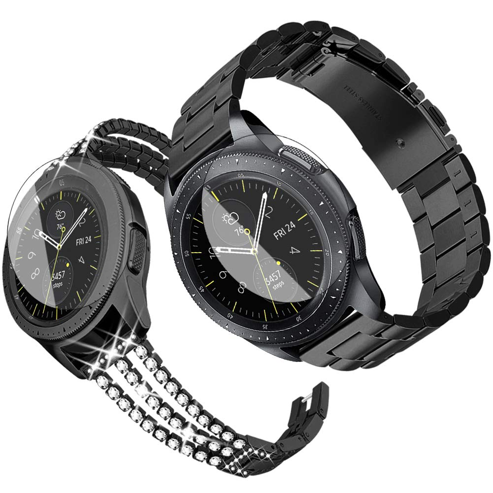 Amazon Com Supoix Compatible For Samsung Galaxy Watch 42mm Band