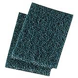 Boardwalk 188 Extra Heavy-Duty Scour Pad, 3 1/2 X 5, Blue/Gray, 20/Carton