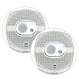 Dual Electronics DMS365 Two 6.5 inch 3 Way Marine Speakers with 120 Watts of Peak Power