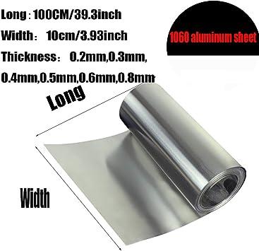 73,12 €//M Aluminium Sheet 400x300x6mm Aluminium AlMg 3 Plate Bezel Strip
