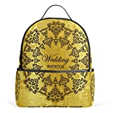 MaMacool Wedding Invitation School Backpack for Boys Teen Girls primary school students