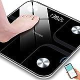 Toyuugo Bluetooth Body Fat Bathroom Scale,Scales Digital Weight,Weight Scale,Body Composition Analyzer Wireless BMI with…