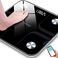 Toyuugo Bluetooth Body Fat Bathroom Scale,Scales Digital Weight,Weight Scale,Body Composition Analyzer Wireless BMI with…