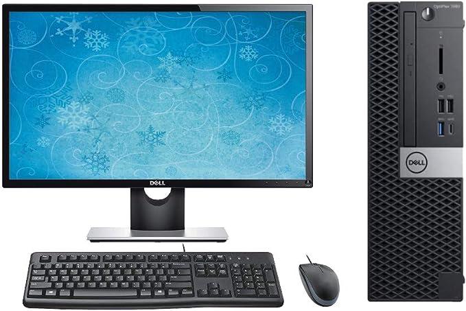 "Dell Optiplex 7060 SFF Performance Desktop PC Bundle, 24"" Display, Keyboard, Mouse, Intel i7-8700 3.2GHz, 32GB RAM, 2TB M.2 SSD, Windows 10 Pro OS   Amazon"