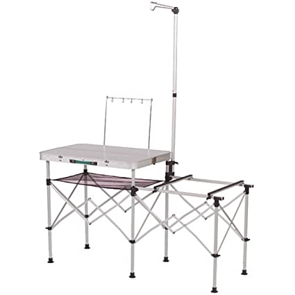Amazon Com Coleman Pack Away Portable Kitchen Camping Tables