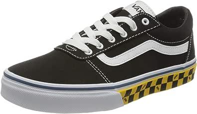 Vans Ward Canvas Sneaker, Zapatilla Baja Unisex niños