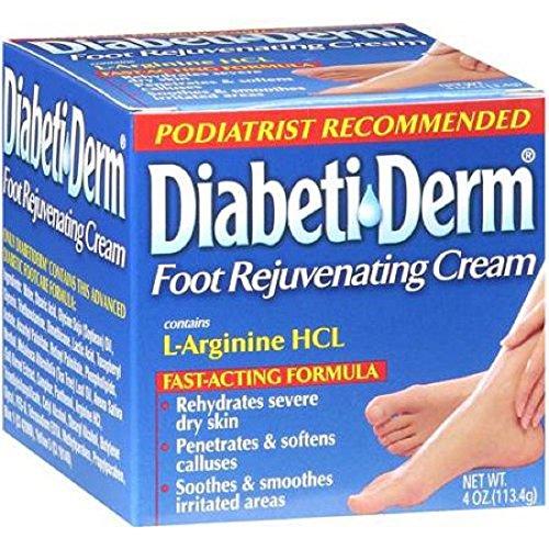 DiabetiDerm Foot Rejuvenating Cream 4 Ounces
