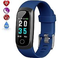HETP Pulsera de Actividad Inteligente, Reloj Inteligente Hombre Mujer con Pulsómetro y Presión Arterial Reloj Deportivo…