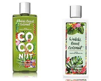 Buy Bath Body Works Waikiki Beach Coconut Shower Gel And