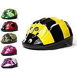 3StyleScooters® SafetyMAX® - Casco para Niños - 6 Diseños Increíbles Bicicleta y Patinete - Cinta Ajustable - Opciones…