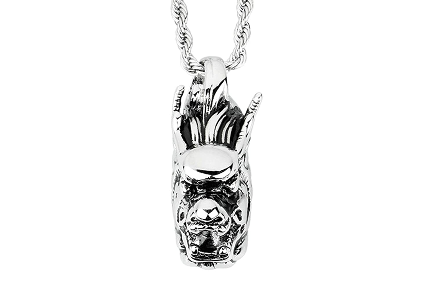 AMDXD Jewelry Stainless Steel Pendant Necklace Men Pendant Necklaces Chain Necklace