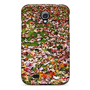 MeSusges Fashion Protective Fall Foliage Case Cover For Galaxy S4
