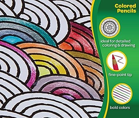 Crayola Colored Pencils, No Repeat Colors, School Supplies, 120 Count, Gift