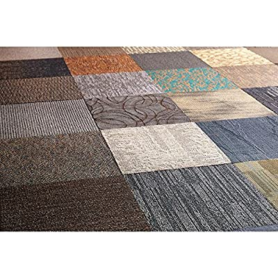 Assorted Commercial 2 ft. x 2 ft. Carpet Tile (10 Tiles/Case-40sq. ft.)