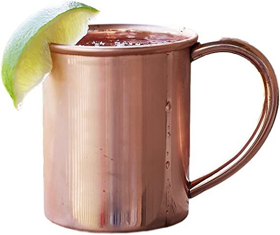 Copper Mug For Moscow Mules 12 Oz Size Kitchen Dining