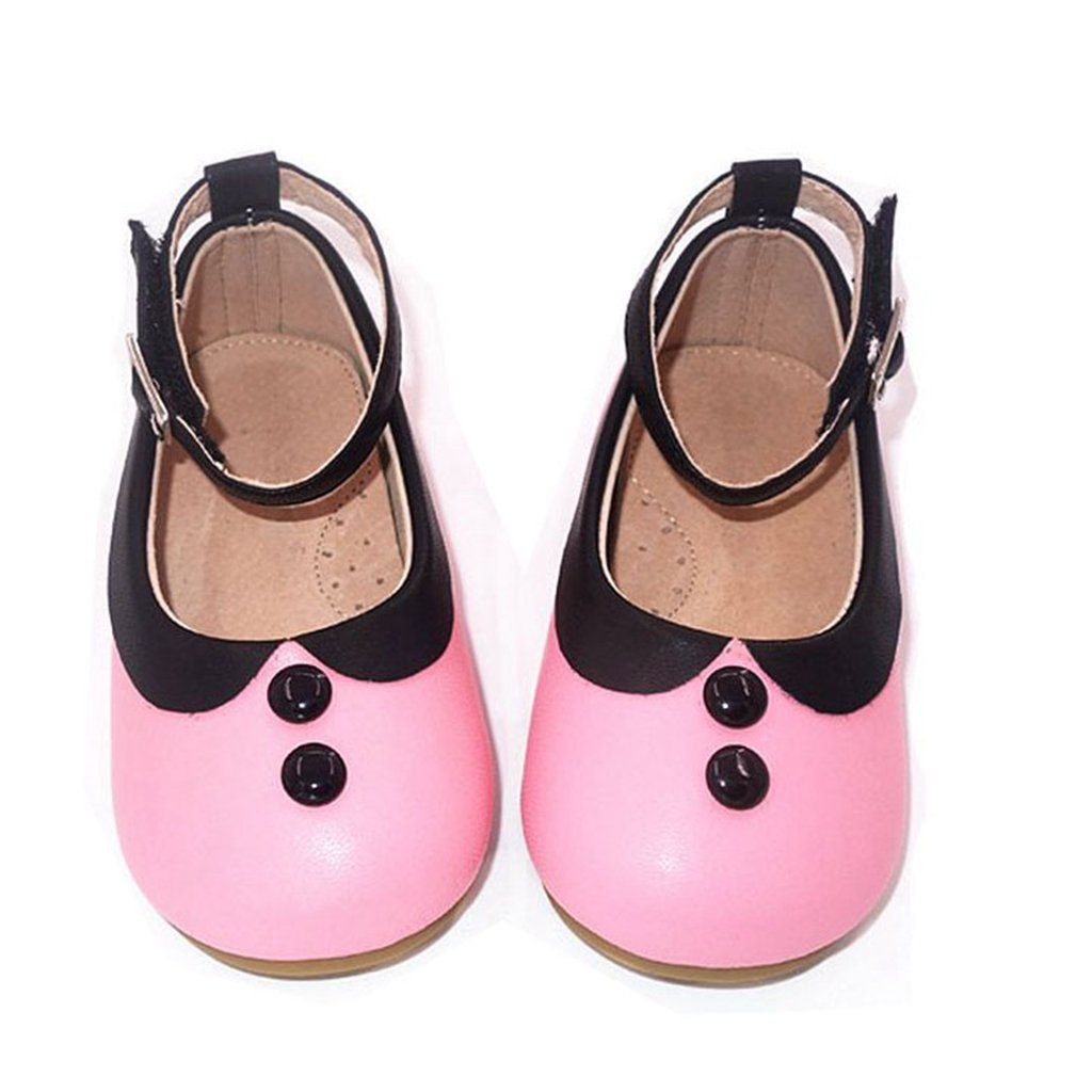 Girl's Mary Jane Dress Ballet Pearl Casual Round Toe Wedding Ballerina Party Princess Flats Shoes