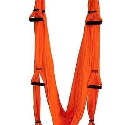 Alger Yoga multifonctionnel de yoga de yoga de yoga de yoga de vol d'oscillation, 250 * 150cm , Orange