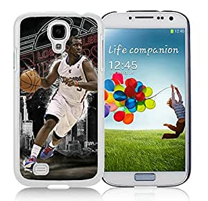 New DIY Designed Skin Case For Samsung Galaxy S4 I9500 i337 M919 i545 r970 l720 With LA Clippers Chris Paul 4 White Phone Case