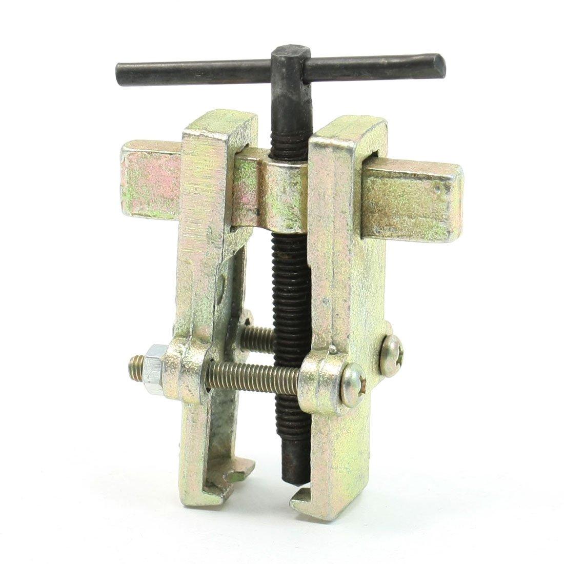 Colore: bronzo, 80 mm, centro-2 ganasce-Estrattore per cuscinetti sourcing map a13072500ux0735