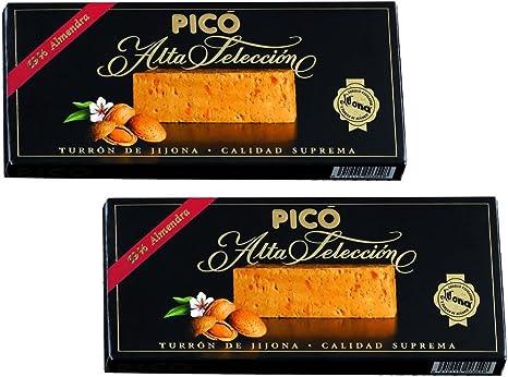 Picó - Pack incluye 2 Turron de Jijona - Turron blando caja negra - Calidad superior 200gr: Amazon.es: Alimentación y bebidas