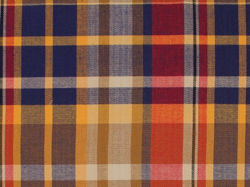 3 Yards Bolt of Allison Cotton Stretch Twill Plaid Suiting Fabric By the Yard (Twill Suiting)