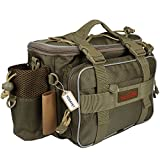 YOGAYET Portable Outdoor Fishing Tackle Bag Multifunctional Lure Waist Fanny Pack Water-Resistant Soft Sided Shoulder Carry Strap Storage