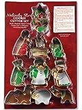 Presepe Story-Set di formine per biscotti, 12 pezzi, in metallo resistente Shapes. famiglia di Natale tradizionale di divertimento