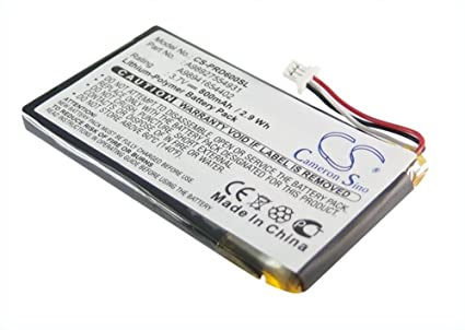 Ebook Reader batería de Li-polímero de litio 800 mAh 3,7 V para ...