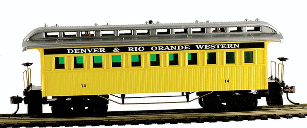 MAN719008 CSM719008 HO Old Time Coach, D& RGW Model Power