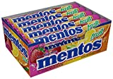 Mentos Chewy Mint Candy Roll, Fruit, Non