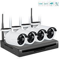 Kit inalámbrico de Video vigilancia, EMAX 720P NVR