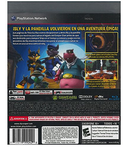Sly Cooper : Thieves in Time Spanish/English Edition - PlayStation 3