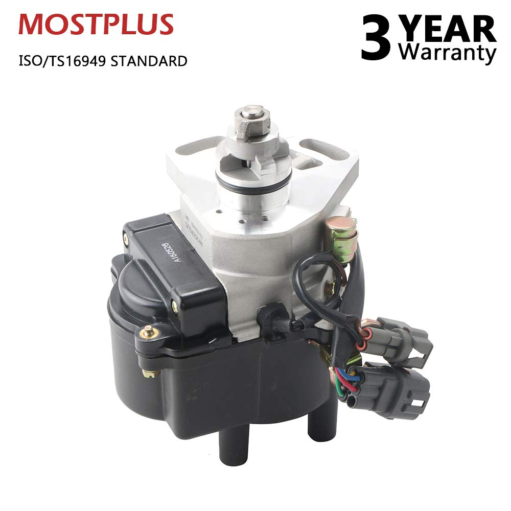 MOSTPLUS New Ignition Distributor for 90-93 TOYOTA COROLLA CELICA GEO PRIZM 4AFE 31-77416 HL